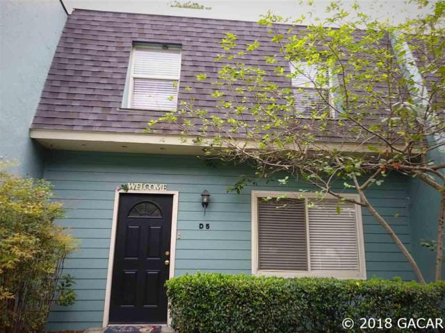 501 SW 75 Street D 5, Gainesville, FL 32607 (MLS #419929) :: Pepine Realty