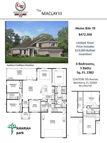 12429 SW 5th Avenue, Newberry, FL 32669 (MLS #421760) :: Rabell Realty Group