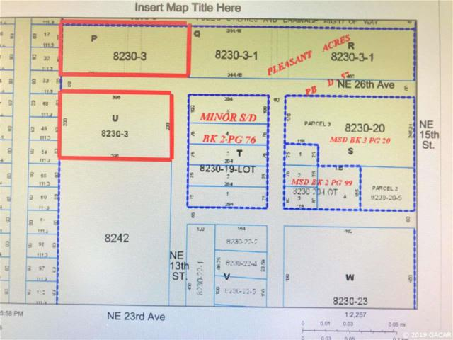00 NE 13th St & Ne 26 Avenue, Gainesville, FL 32609 (MLS #423433) :: Bosshardt Realty
