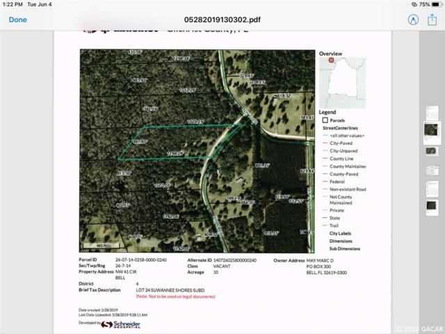 NW 41ST Circle, Bell, FL 32619 (MLS #425749) :: Pepine Realty
