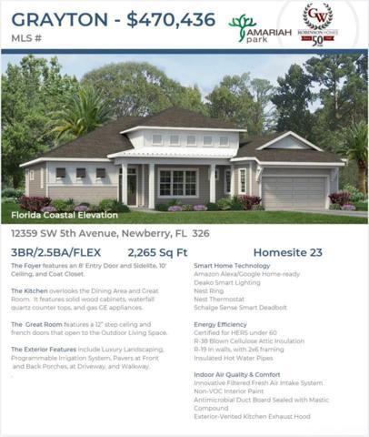 12359 SW 5th Avenue, Newberry, FL 32669 (MLS #426684) :: Bosshardt Realty