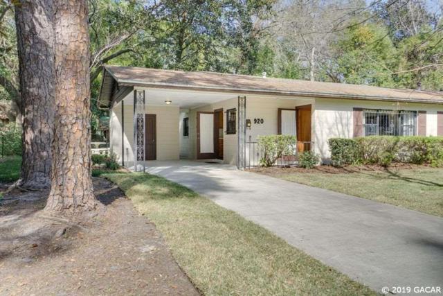 920 NE 6TH Avenue, Gainesville, FL 32601 (MLS #427646) :: Pristine Properties