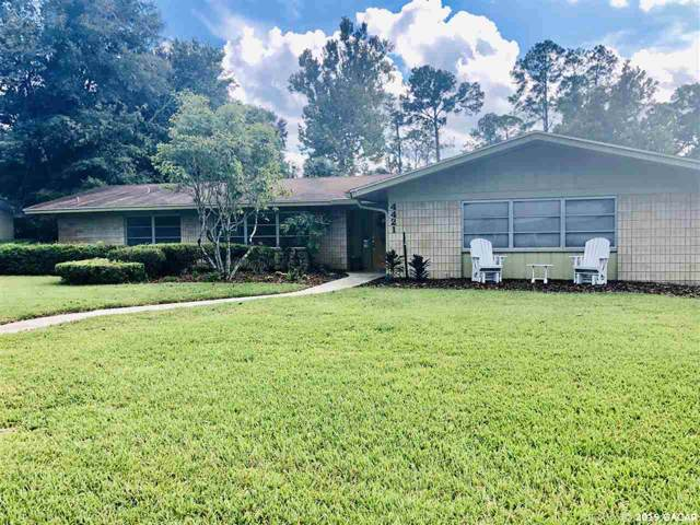 4421 NW 20TH Place, Gainesville, FL 32605 (MLS #429357) :: Pepine Realty