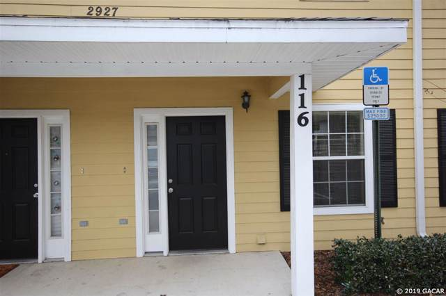 2927 SW 35th Place #116, Gainesville, FL 32608 (MLS #430172) :: Rabell Realty Group