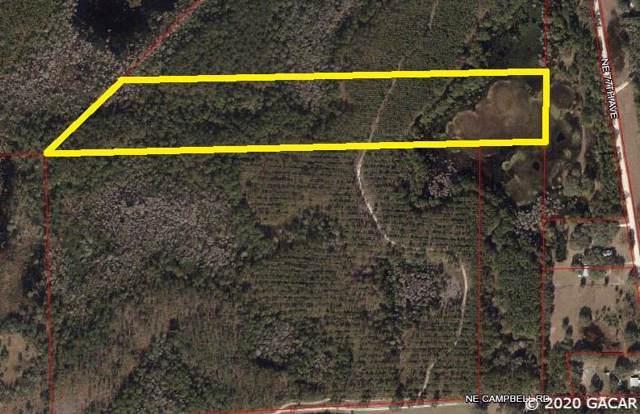 TBD NE Campbell Rd, Bronson, FL 32621 (MLS #430971) :: Pristine Properties
