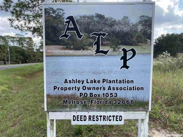 180 Ashley Lake Drive, Melrose, FL 32666 (MLS #431396) :: The Curlings Group