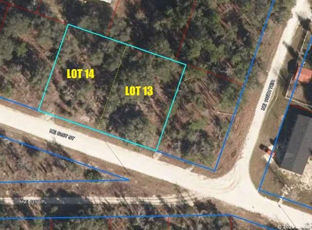 Lot 13 & 14 NE 61st St, Williston, FL 32696 (MLS #431511) :: Bosshardt Realty