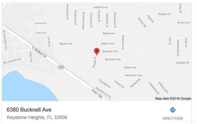 6380 Bucknell, Keystone Heights, FL 32656 (MLS #432484) :: Bosshardt Realty