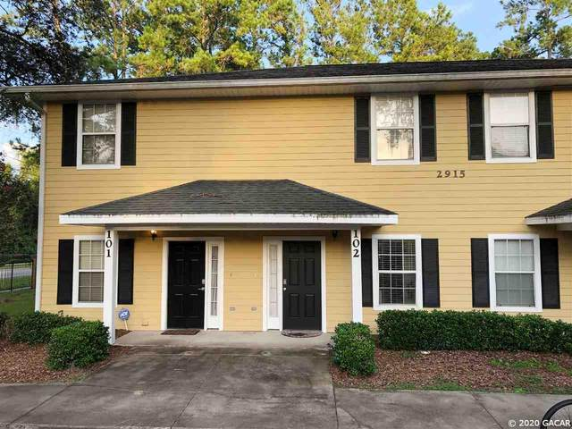 2915 SW 35th Place #102, Gainesville, FL 32608 (MLS #437027) :: Pepine Realty