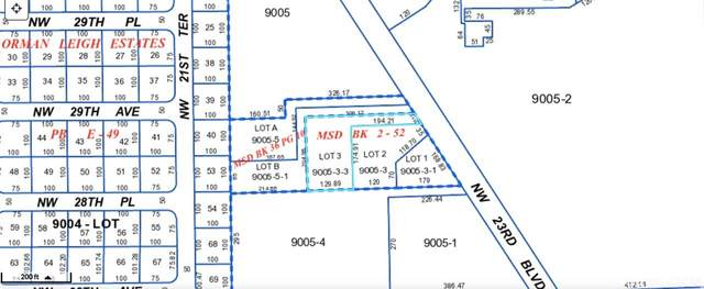 TBD NW 23rd Boulevard, Gainesville, FL 32605 (MLS #438695) :: The Curlings Group