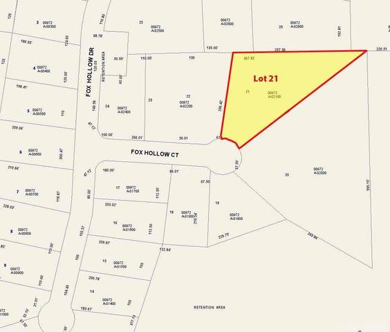 Lot 21 Fox Hollow Court, Hampton, FL 32044 (MLS #439822) :: The Curlings Group