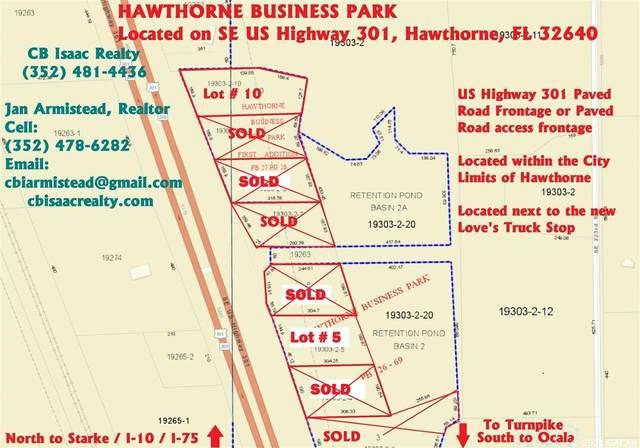 TBD SE Us Highway 301 Lot# 5, Hawthorne, FL 32640 (MLS #442308) :: Pepine Realty