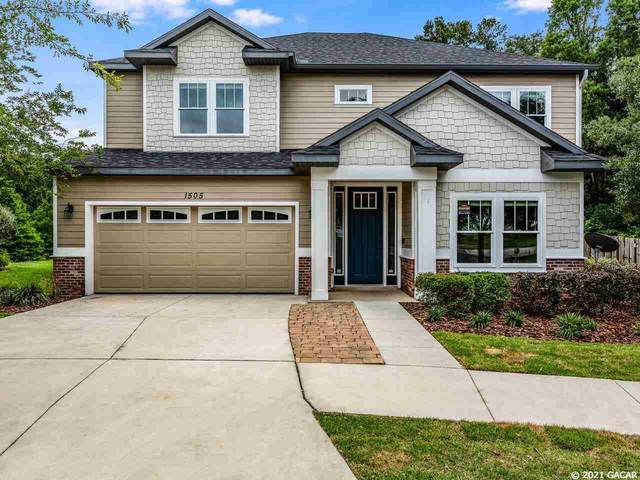 1505 NW 100th Drive, Gainesville, FL 32606 (MLS #444736) :: Abraham Agape Group
