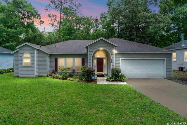 823 NW 113TH Terrace, Gainesville, FL 32606 (MLS #445614) :: Abraham Agape Group