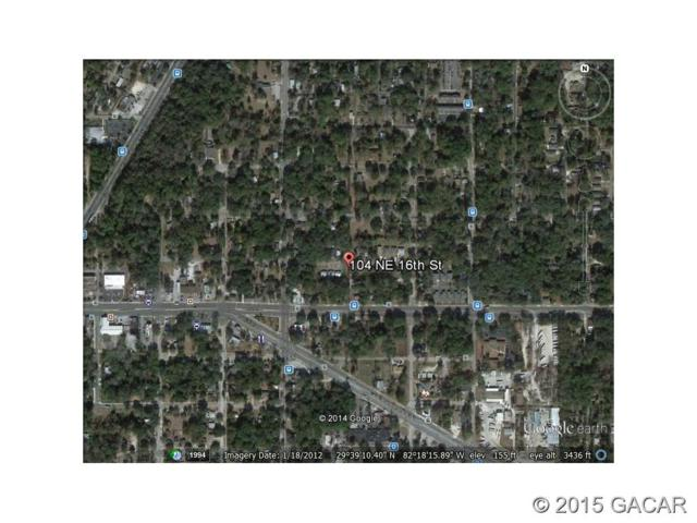 104 NE 16th Street, Gainesville, FL 32601 (MLS #359055) :: Bosshardt Realty