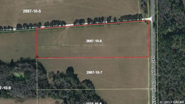 10.43 Acres NW 232nd Lane, Alachua, FL 32615 (MLS #405604) :: Thomas Group Realty