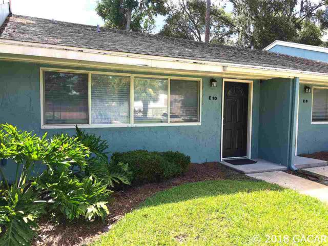 501 SW 75th Street E-10, Gainesville, FL 32607 (MLS #416612) :: Pepine Realty