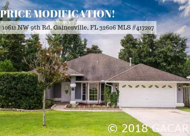 10611 NW 9th Road, Gainesville, FL 32606 (MLS #417207) :: Bosshardt Realty