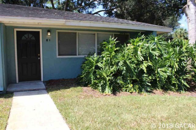 501 SW 75th Street E-1, Gainesville, FL 32607 (MLS #418828) :: Bosshardt Realty
