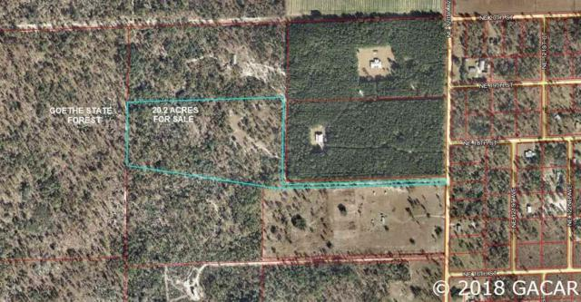 20.2 Acres NE 120th Ave., Williston, FL 32696 (MLS #419580) :: Bosshardt Realty