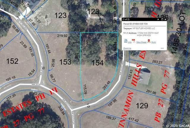 17204 NW 250th Way, High Springs, FL 32643 (MLS #436489) :: Abraham Agape Group