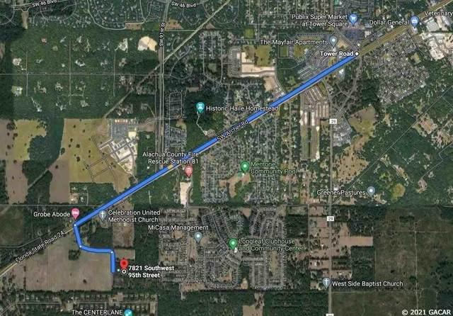 7821 SW 95 Street, Gainesville, FL 32608 (MLS #446685) :: Abraham Agape Group