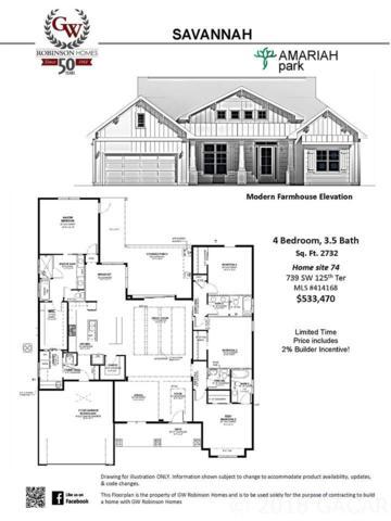 739 SW 125th Terrace, Newberry, FL 32669 (MLS #414168) :: Bosshardt Realty