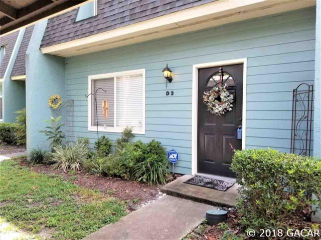501 SW 75th Street D 3, Gainesville, FL 32607 (MLS #417462) :: Pepine Realty