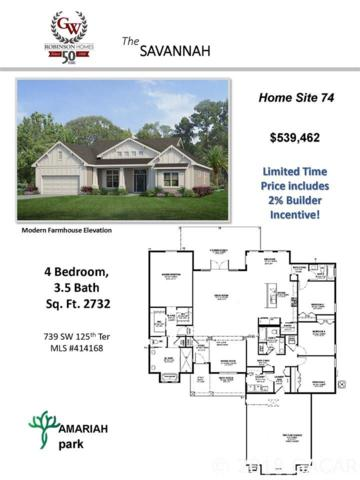 739 SW 125th Terrace, Newberry, FL 32669 (MLS #414168) :: OurTown Group