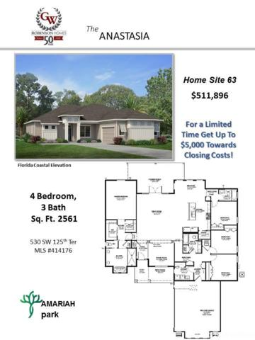 530 SW 125th Terrace, Newberry, FL 32669 (MLS #414176) :: Rabell Realty Group