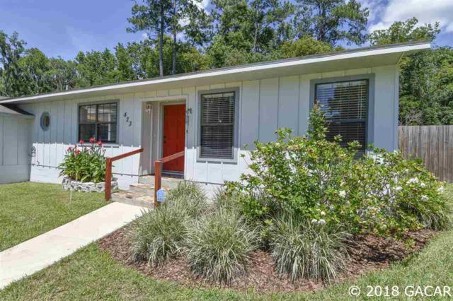 423 NW 102 Terrace, Gainesville, FL 32607 (MLS #410919) :: Rabell Realty Group