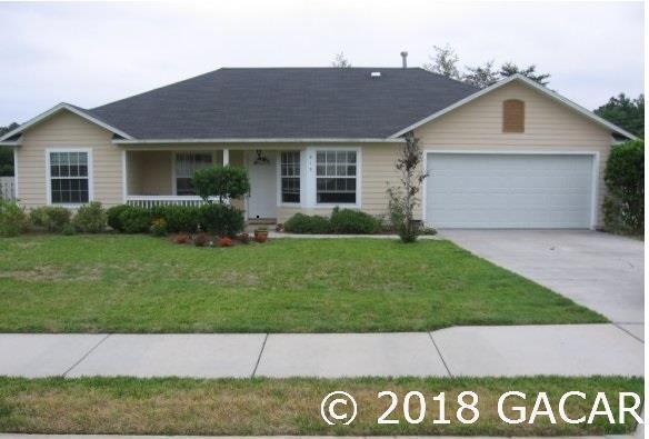 815 NW 119TH Street, Gainesville, FL 32606 (MLS #412504) :: Bosshardt Realty