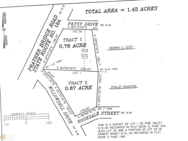 0 Rosedale St, Toccoa, GA 30577 (MLS #8061063) :: Anderson & Associates