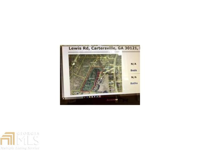 0 Lewis Rd, Cartersville, GA 30121 (MLS #8227482) :: Maximum One Main Street Realtor