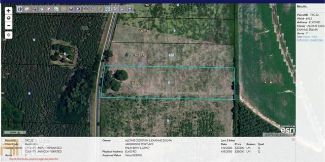 0 Elko Rd, Unadilla, GA 31091 (MLS #8317203) :: Ashton Taylor Realty