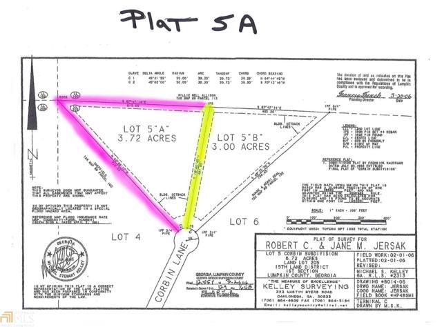 0 Corbin Ln, Dahlonega, GA 30533 (MLS #8321495) :: Anderson & Associates