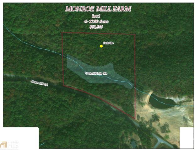 0 Monroe Mill Lot 1, Buchanan, GA 30113 (MLS #8343383) :: Main Street Realtors