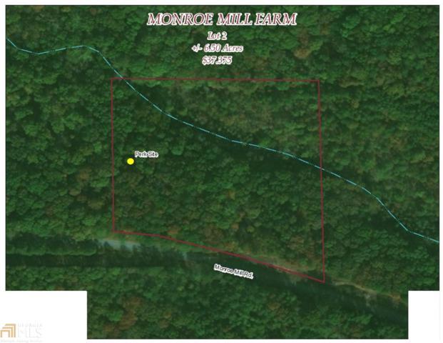 0 Monroe Mill Lot 2, Buchanan, GA 30113 (MLS #8344414) :: Main Street Realtors