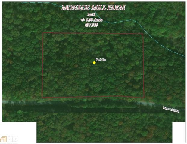 0 Monroe Mill Lot 3, Buchanan, GA 30113 (MLS #8344415) :: Main Street Realtors