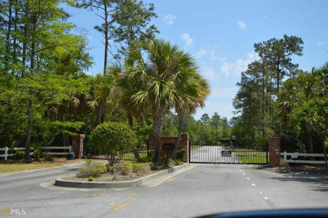 168 Bluebill Trl Lot 55, Brunswick, GA 31523 (MLS #8349617) :: Rettro Group