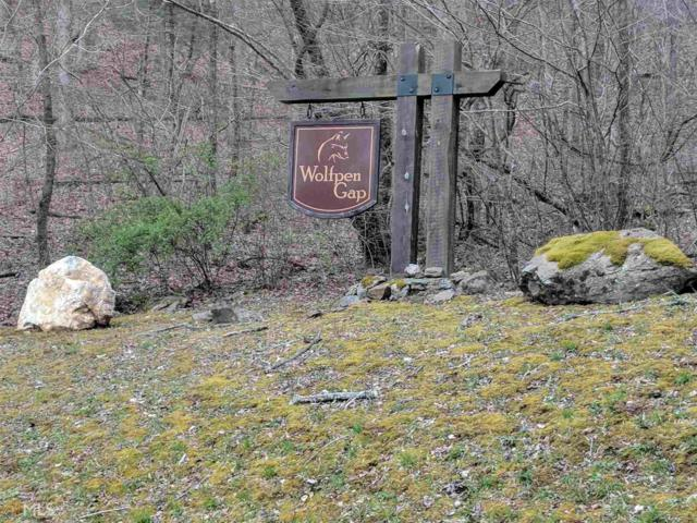 31 Wolfpen Gap, Hiawassee, GA 30546 (MLS #8349703) :: Anderson & Associates