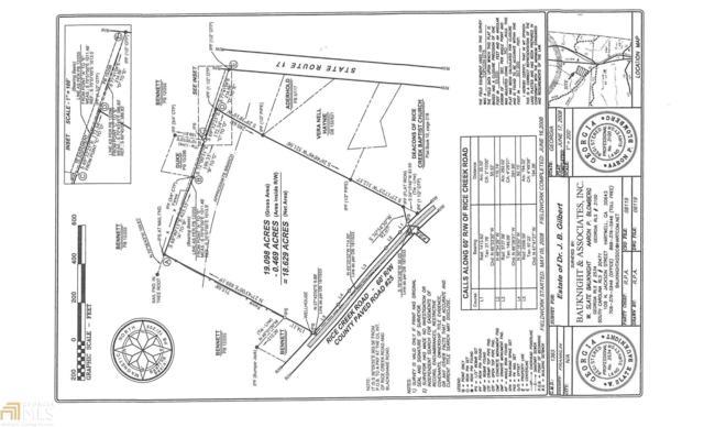 0 Rice Creek Rd, Canon, GA 30520 (MLS #8359236) :: Anderson & Associates