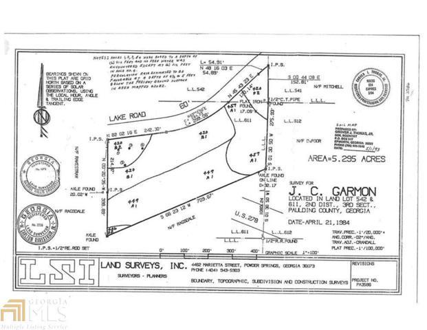 0 Lake Rd W, Hiram, GA 30141 (MLS #8396290) :: Main Street Realtors