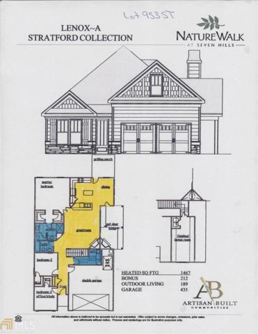 64 Azalea Crossing #953, Dallas, GA 30132 (MLS #8417672) :: Bonds Realty Group Keller Williams Realty - Atlanta Partners