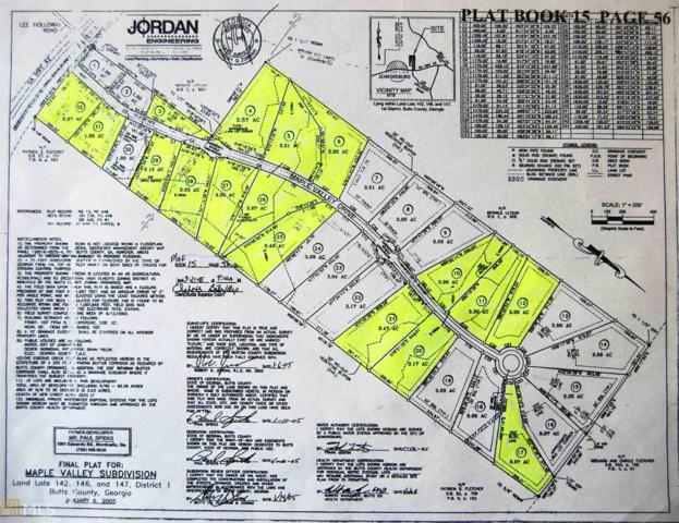 0 Maple Valley Lot #6, Jenkinsburg, GA 30234 (MLS #8421910) :: Ashton Taylor Realty