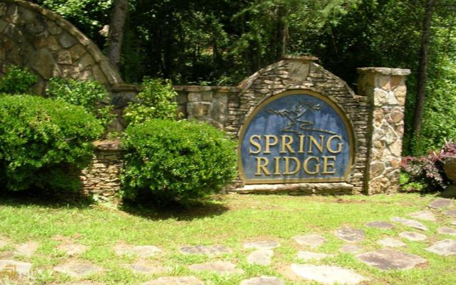 0 Spring Ridge Dr #1, Morganton, GA 30560 (MLS #8422807) :: Rettro Group