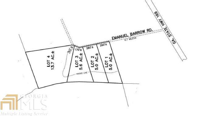 0 Emanuel Barrow Rd, Claxton, GA 30417 (MLS #8435190) :: Bonds Realty Group Keller Williams Realty - Atlanta Partners