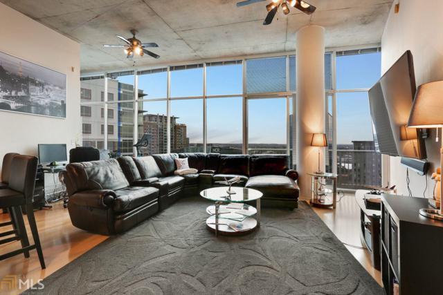 950 W Peachtree #2012, Atlanta, GA 30309 (MLS #8477758) :: DHG Network Athens