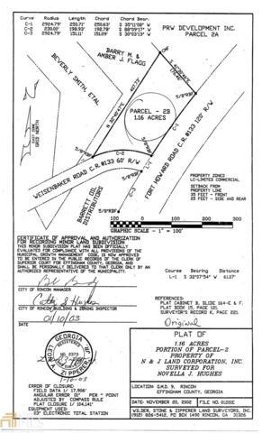 0 Fort Howard Rd At Weisenbaker, Rincon, GA 31326 (MLS #8495582) :: The Heyl Group at Keller Williams