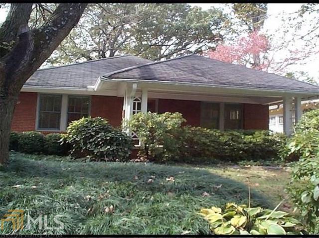 980 Todd Rd, Atlanta, GA 30306 (MLS #8518466) :: Athens Georgia Homes